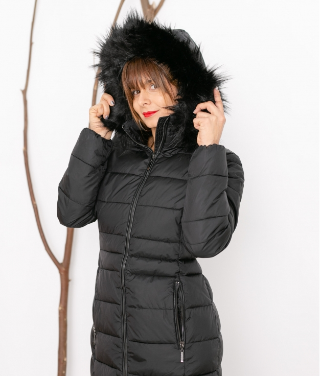 Coat Urano - Black