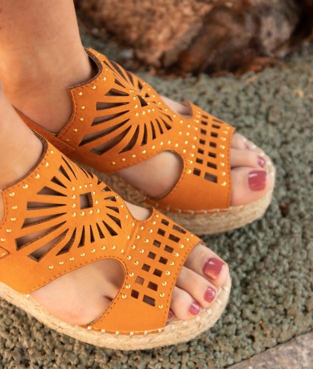 Wedge Heel Divon - Orange