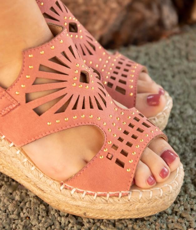 Wedge Heel Divon - Pink