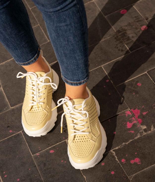 Sneakers Lopen - Amarillo