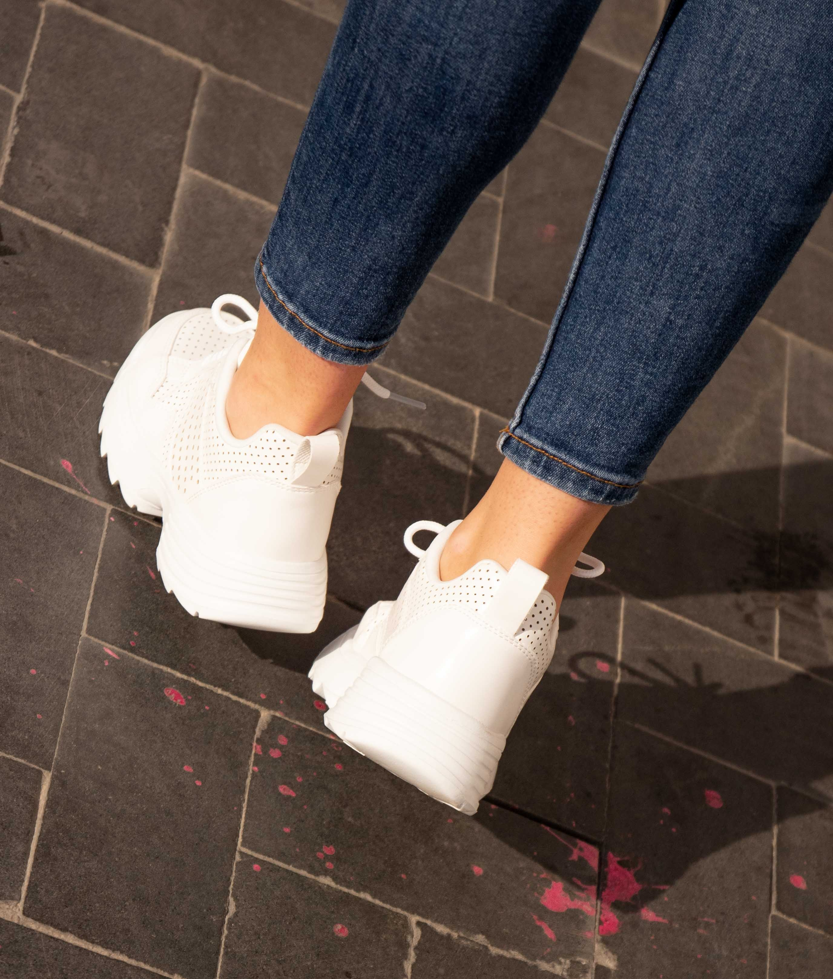 Sneakers Lopen - White
