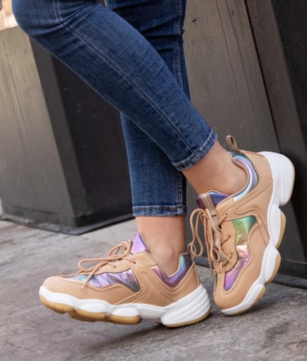 Sneakers Esparten - Camelo