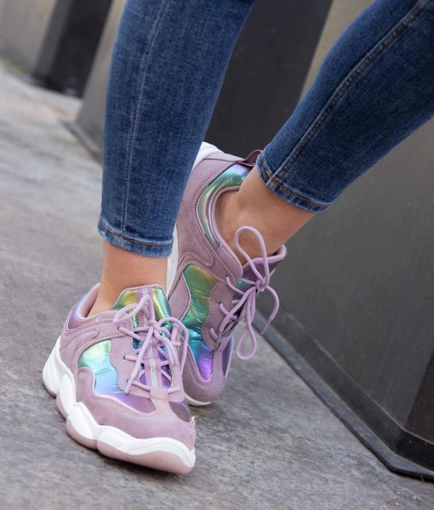 Sneakers Esparten - Purple