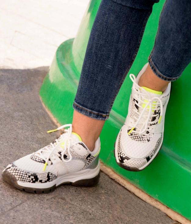 Sneakers Serpan - Branco