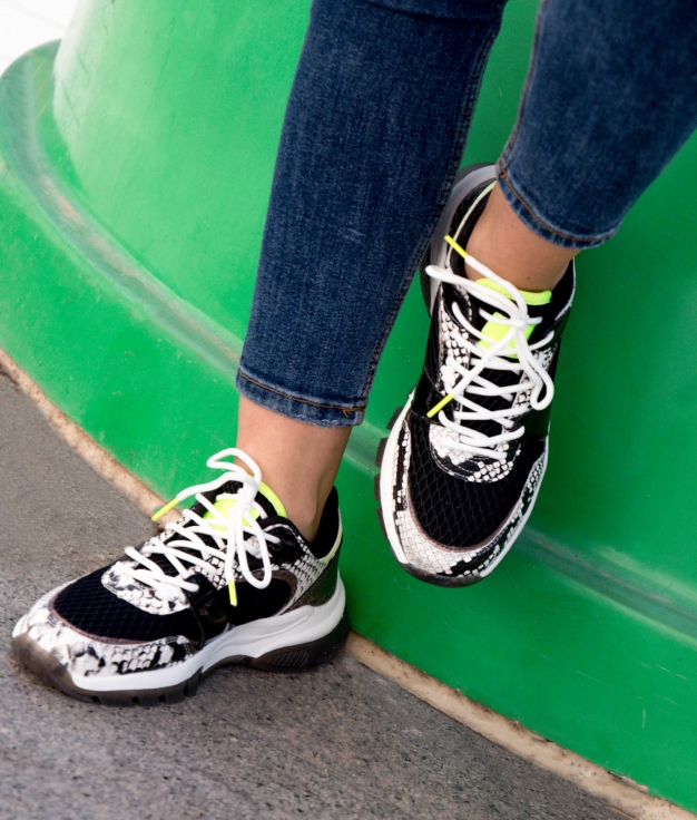 Sneakers Serpan - Negro