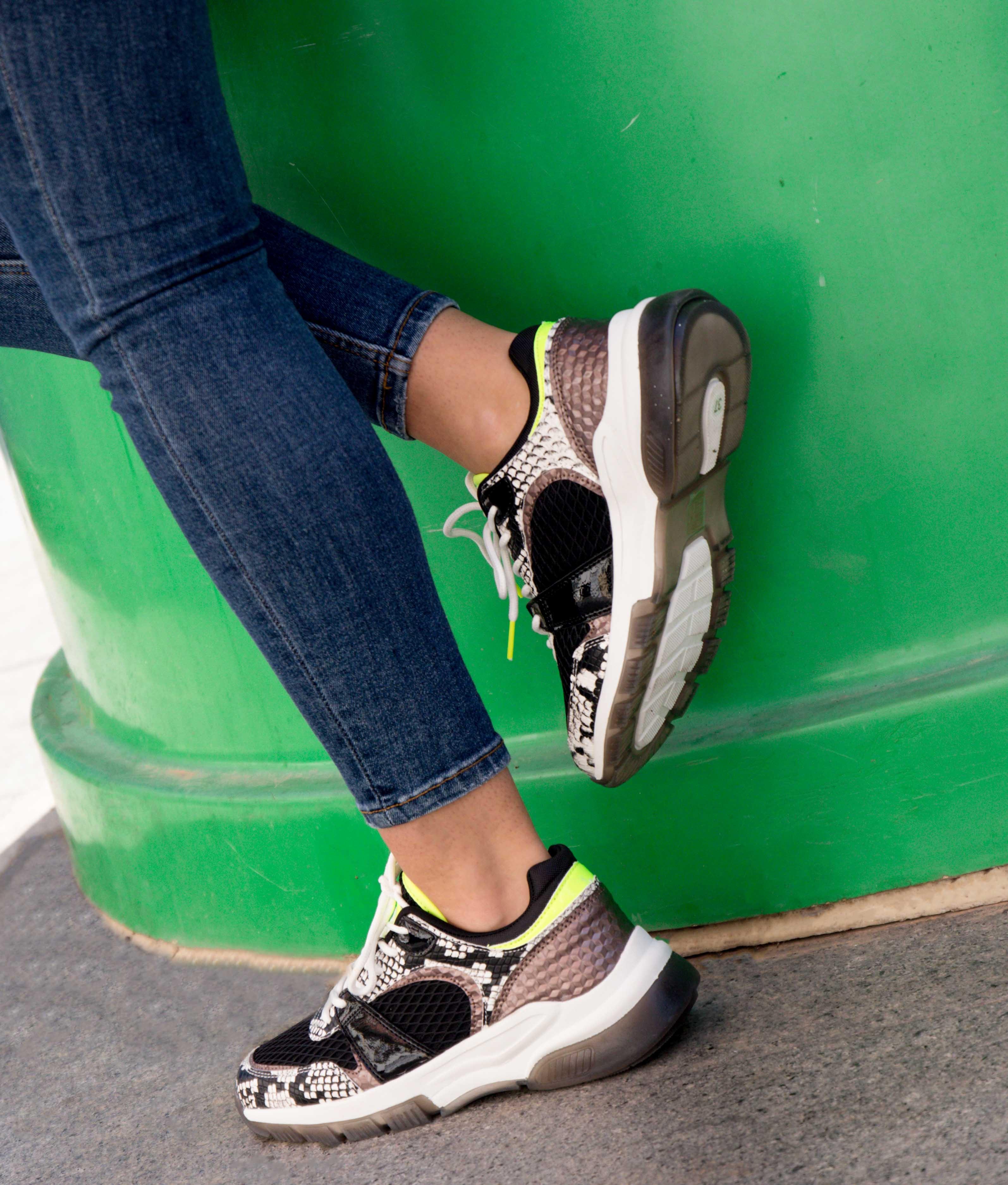 Sneakers Serpan - Noir