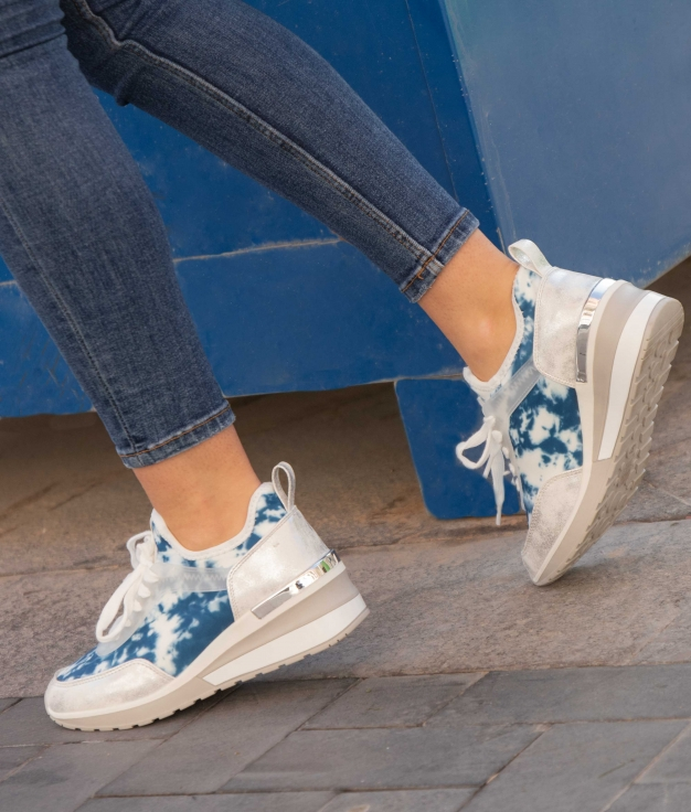 Sneakers Fliral - Navy