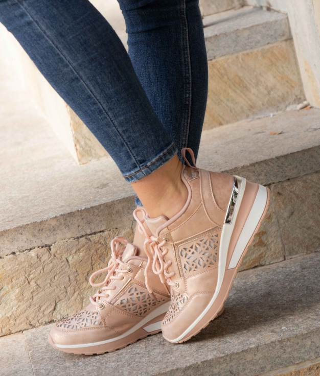 Sneakers Triquet - Nude