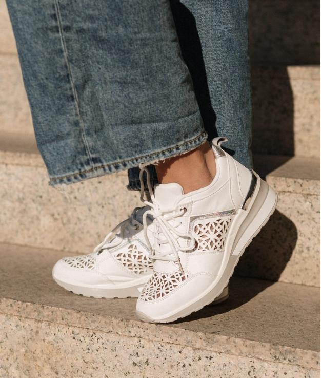 Sneakers Triquet - Bianco