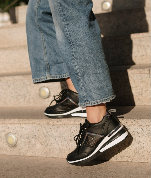 Sneakers Triquet - Negro