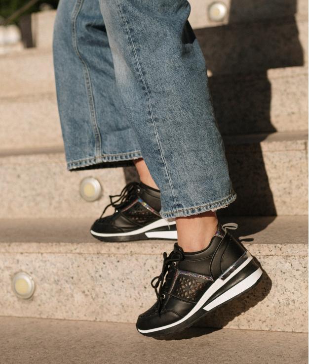 Sneakers Triquet - Nero