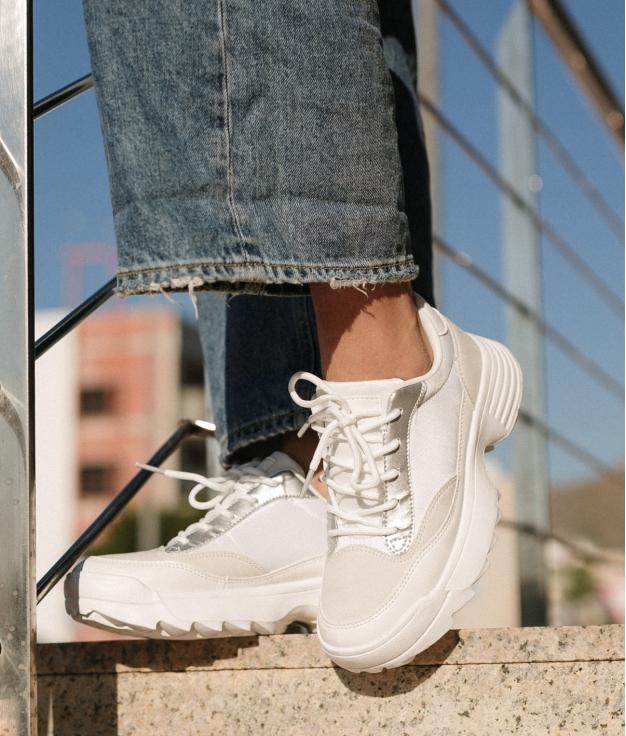 Sneakers Uyul - Bianco