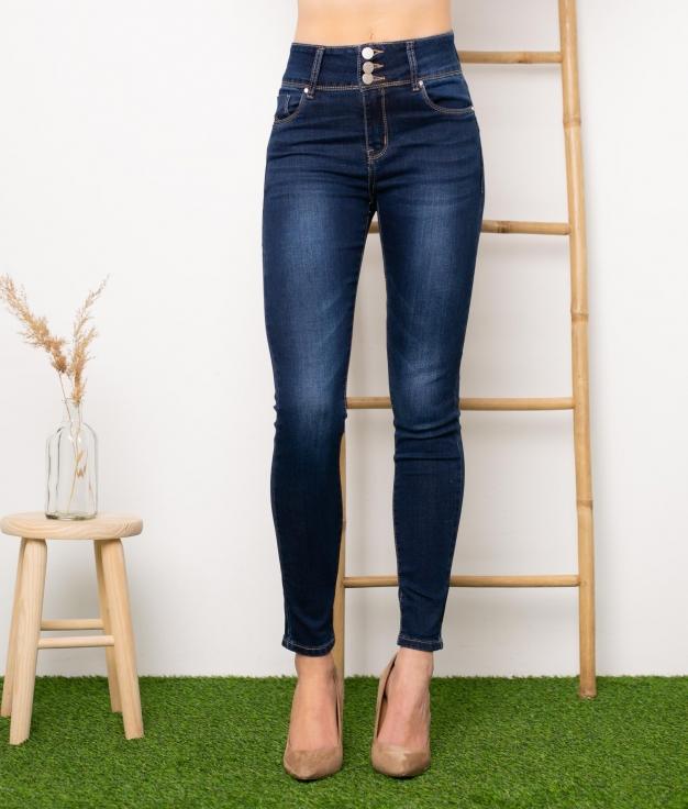 Pantaloni Dany - Denim Scuro