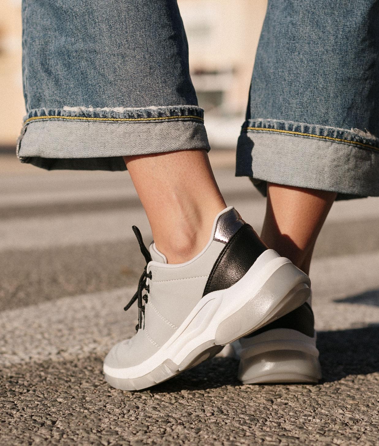 Sneakers Zesa - Cinza