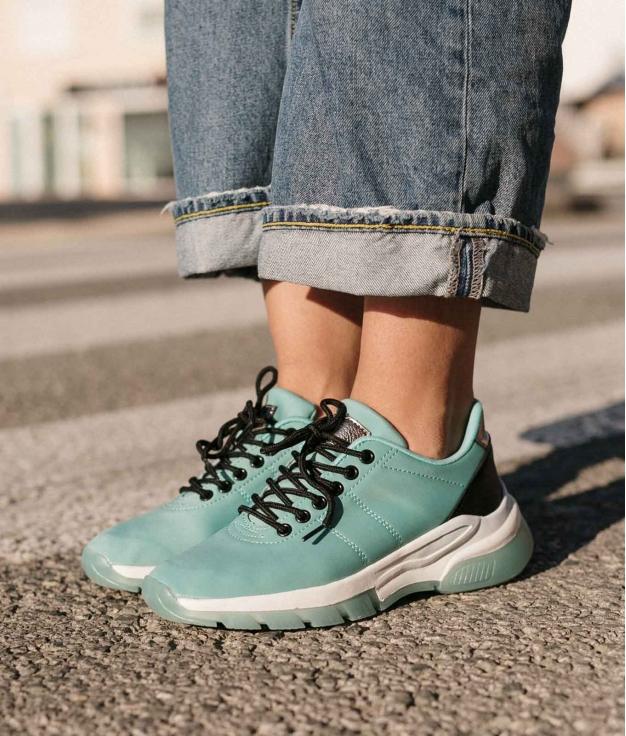 Sneakers Zesa - Aguamarina