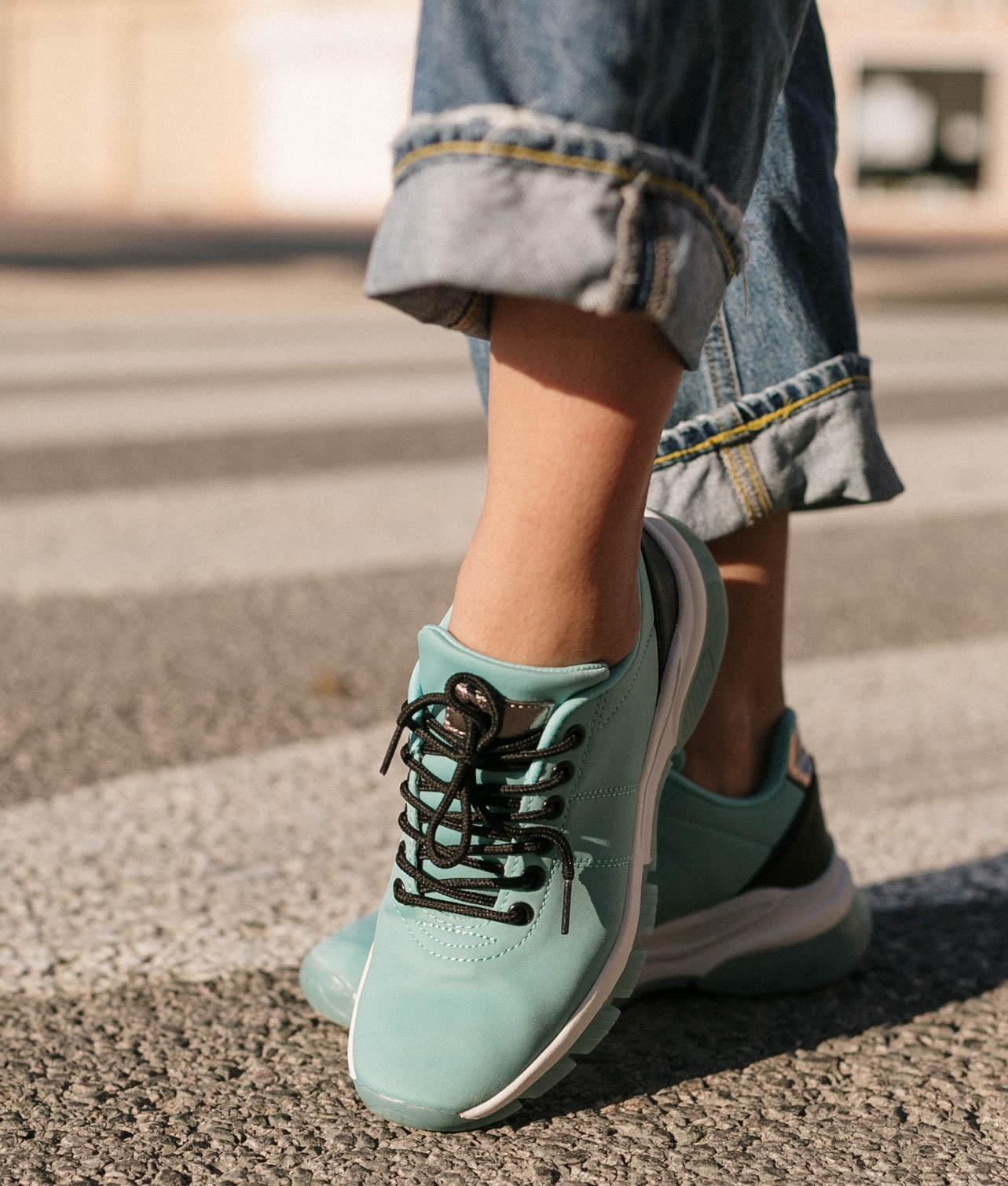 Sneakers Zesa - Acquamarina