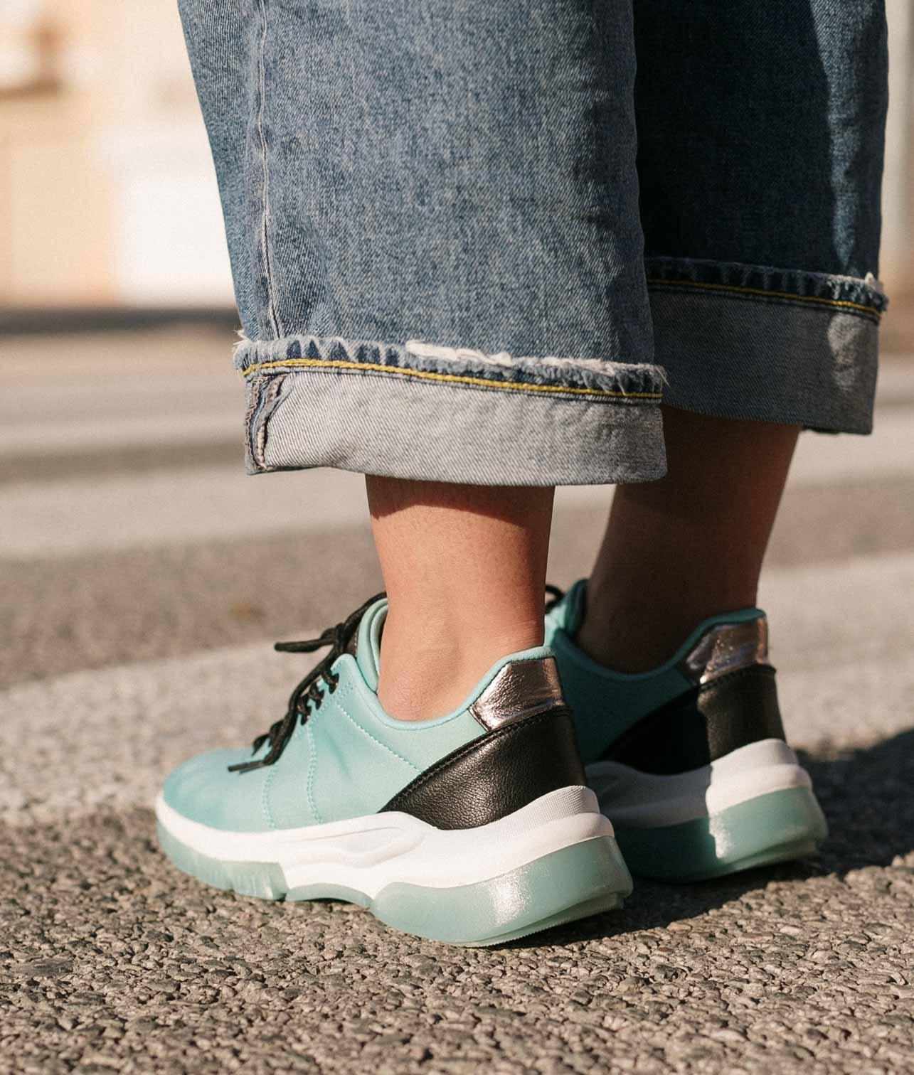 Sneakers Zesa - Água-marinha