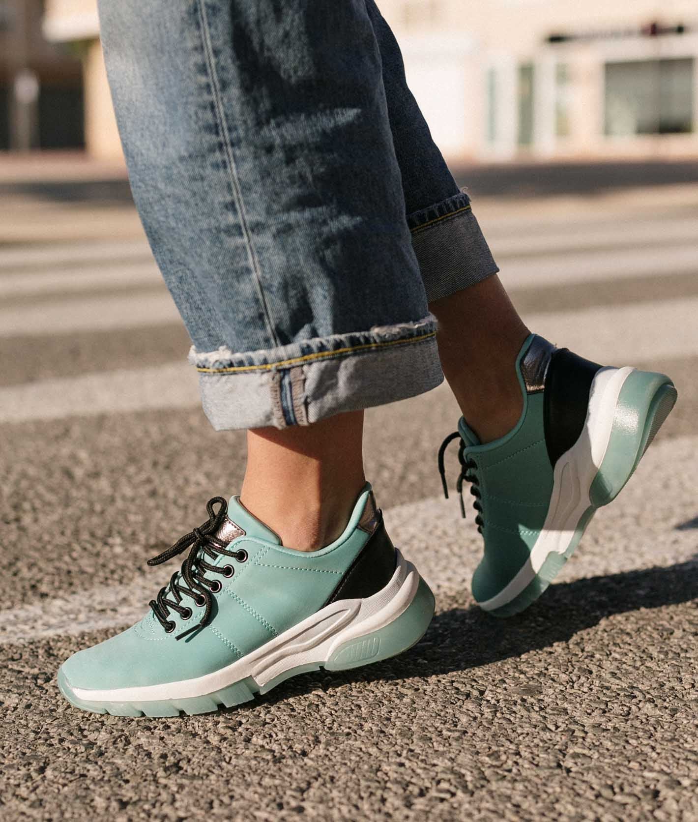 Sneakers Zesa - Aquamarine