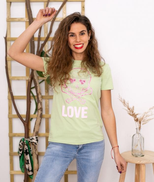 T-shirt Yenefer - Vert