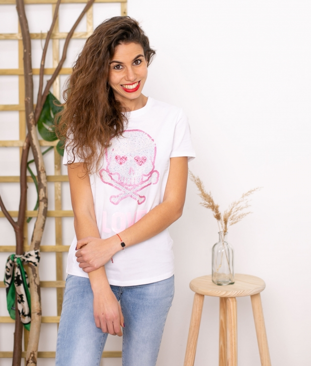 Camiseta Yenefer - Branco
