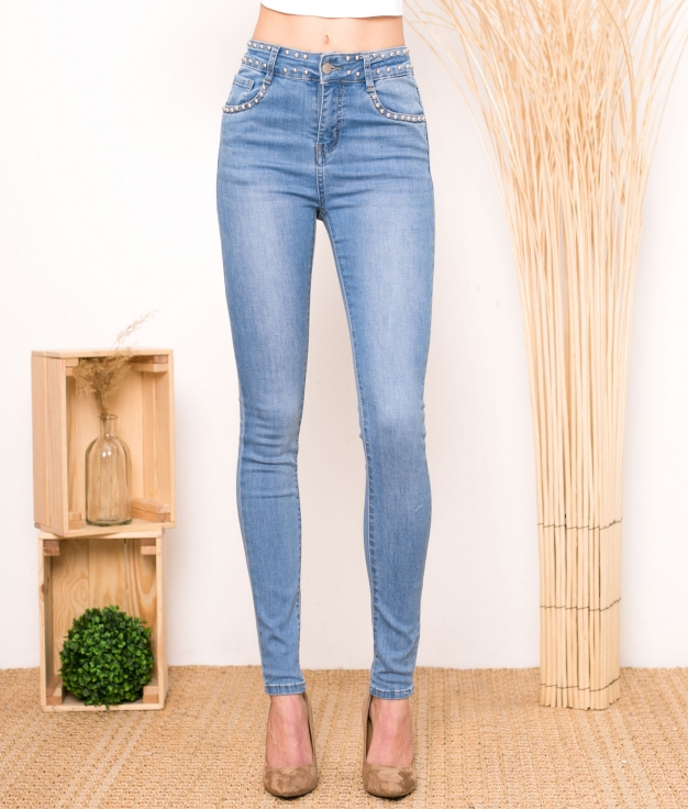 Pantaloni Aneko - Denim