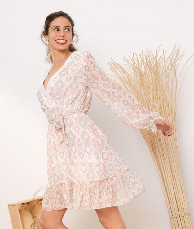 Vestido Ibi - Taupe