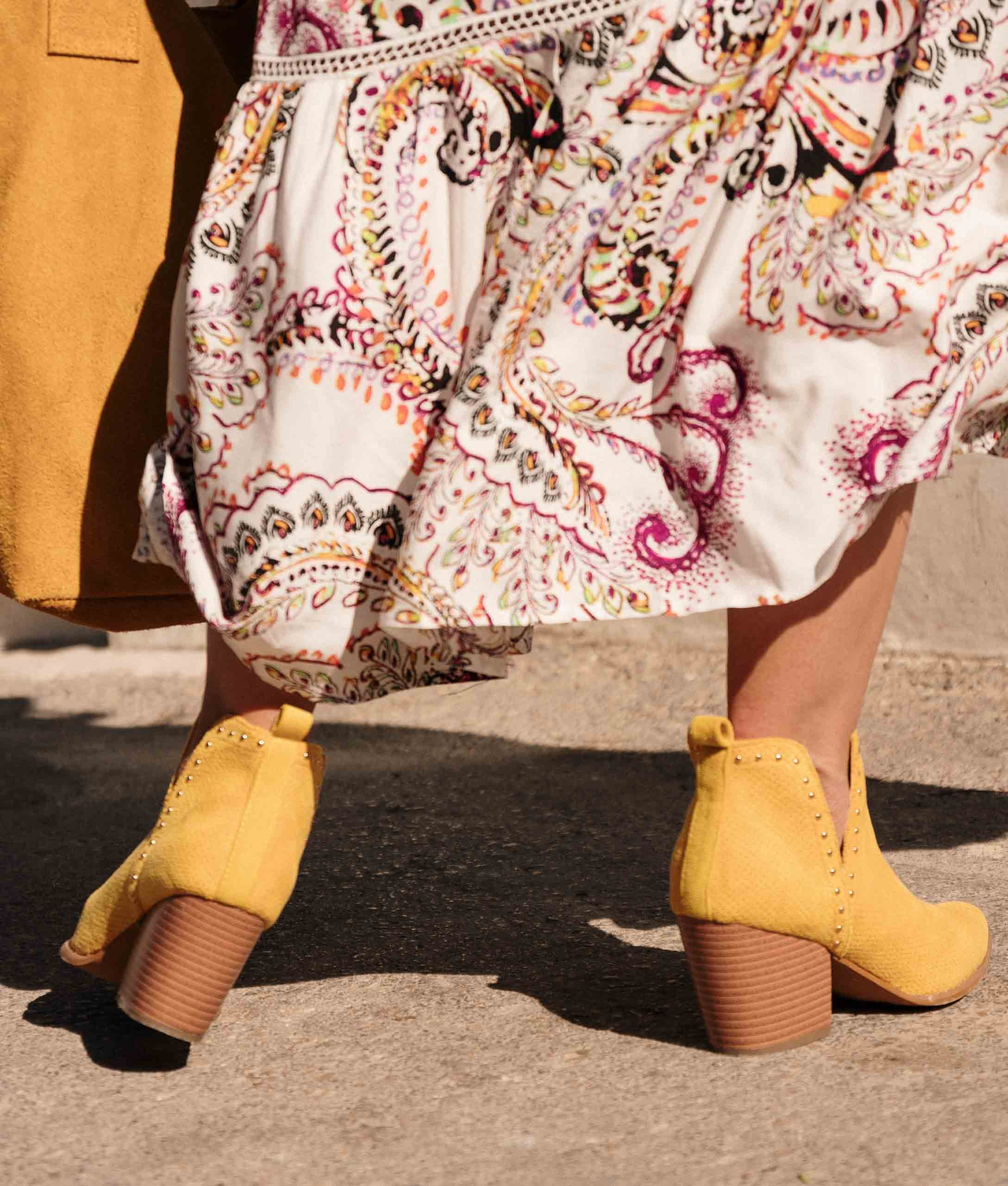 Low Boot Ronil - Yellow