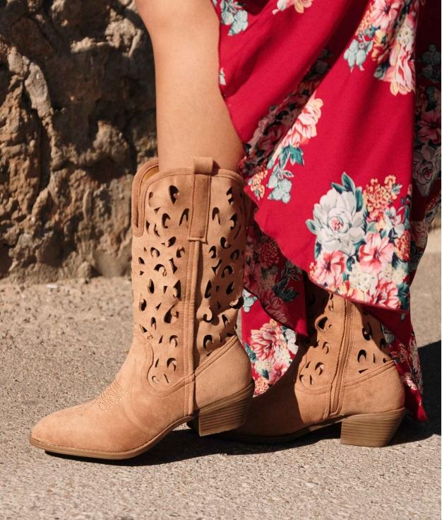 Knee-length Boot Yolis - Brown