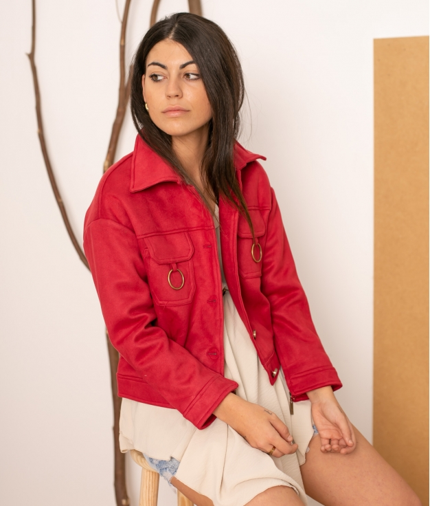 Jacket Combo - Maroon