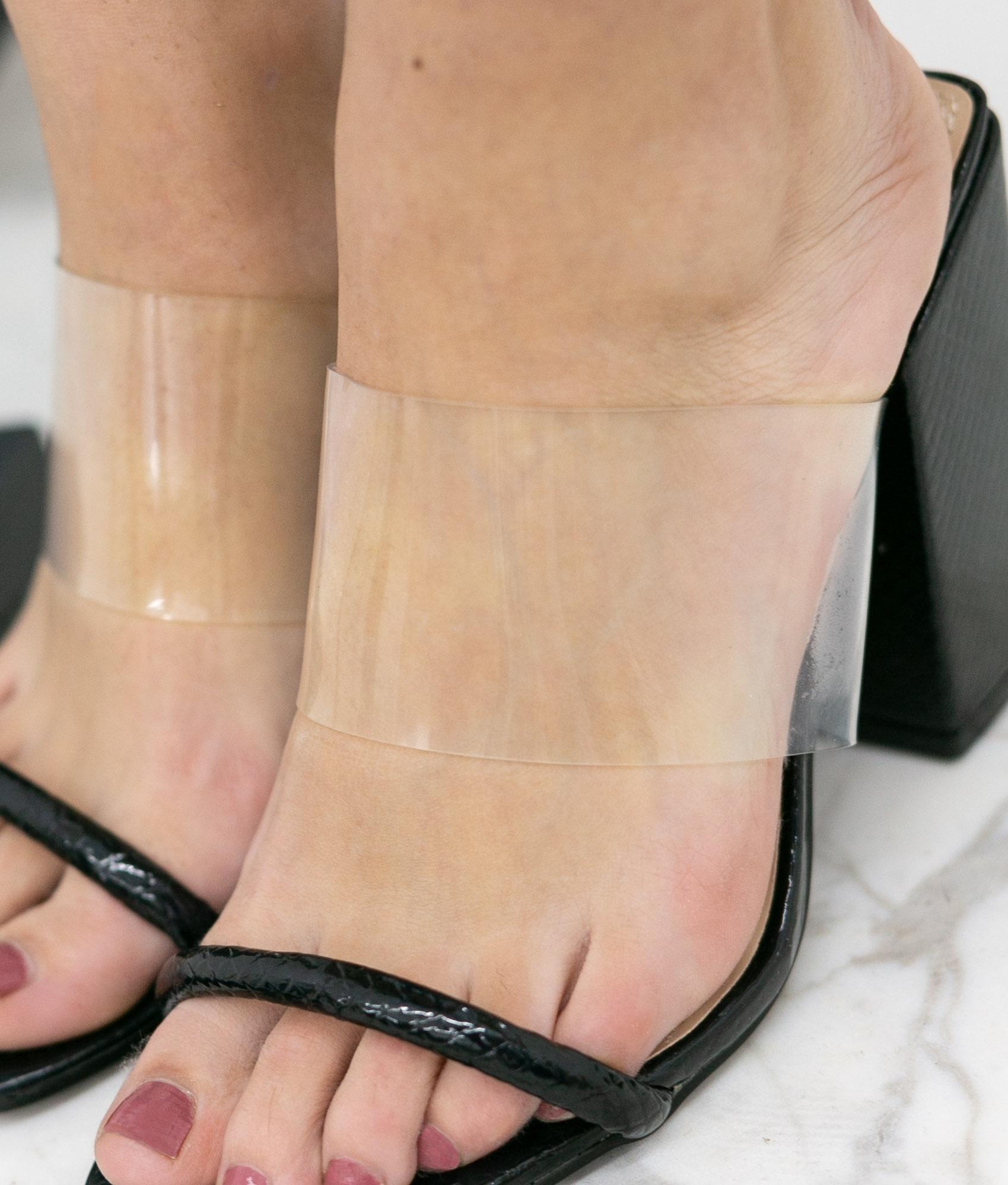 High Sandal Kacen - Black