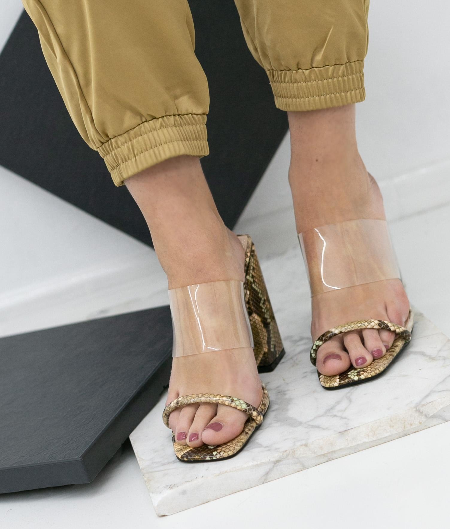 High Sandal Kacen - Brown