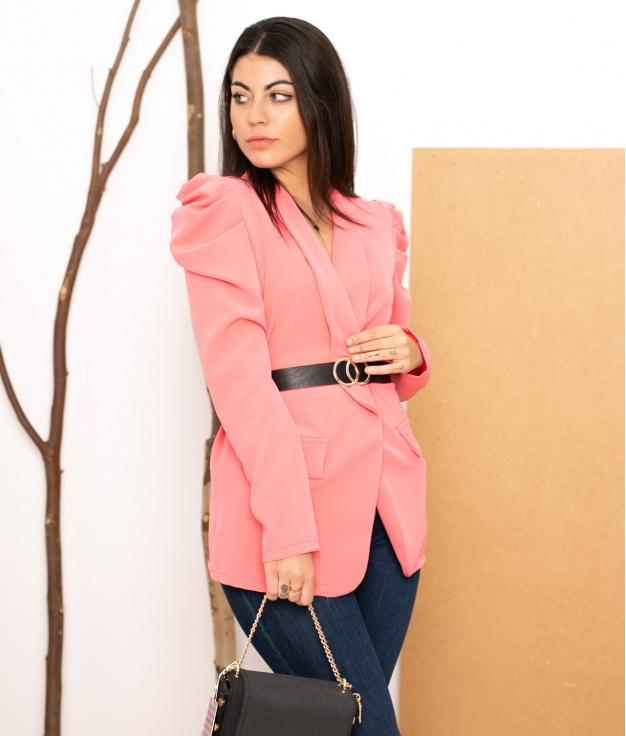 Blazer Marim - Pink