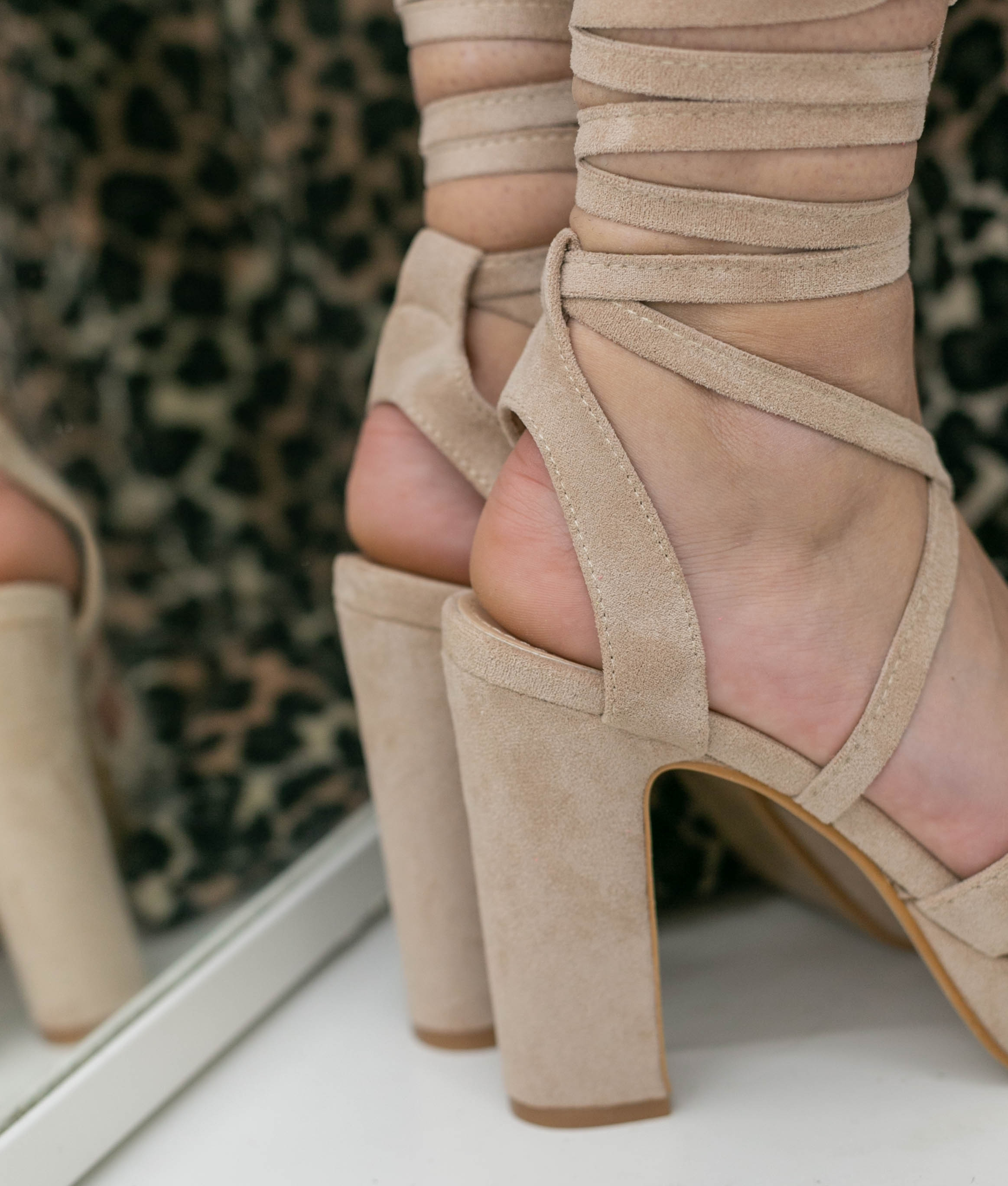 High Sandal Danity - Beige