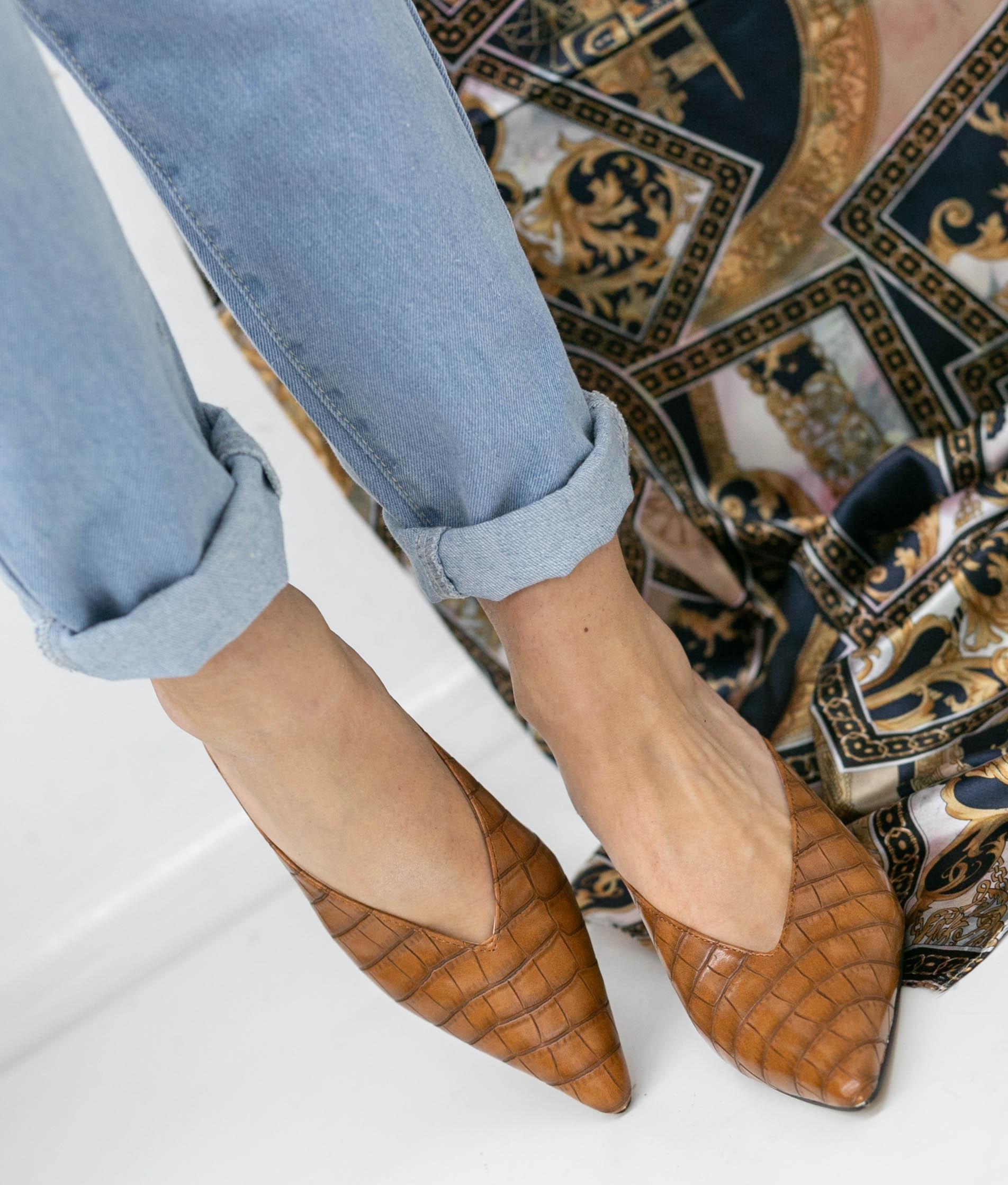 Zapato Mule Vaner - Cammello