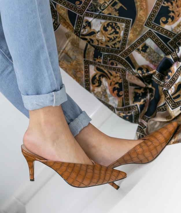 Zapato Mule Vaner - Chameau
