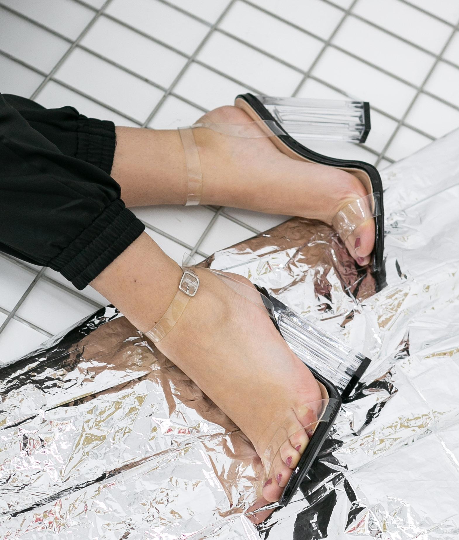 High Sandal Vendal - Black