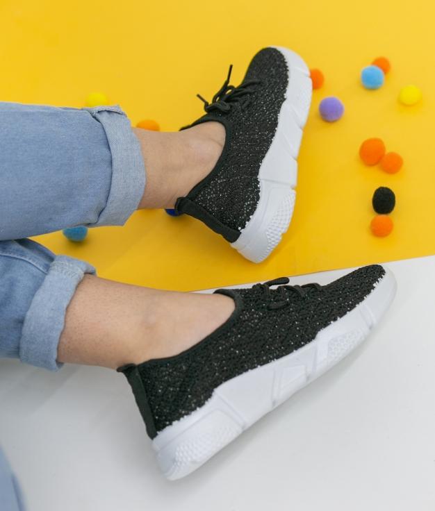 Sneakers Viser - Black