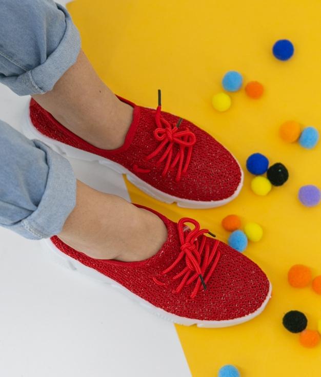 Sneakers Viser - Red