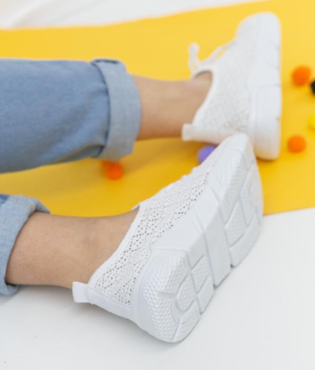 Sneakers Viser - White