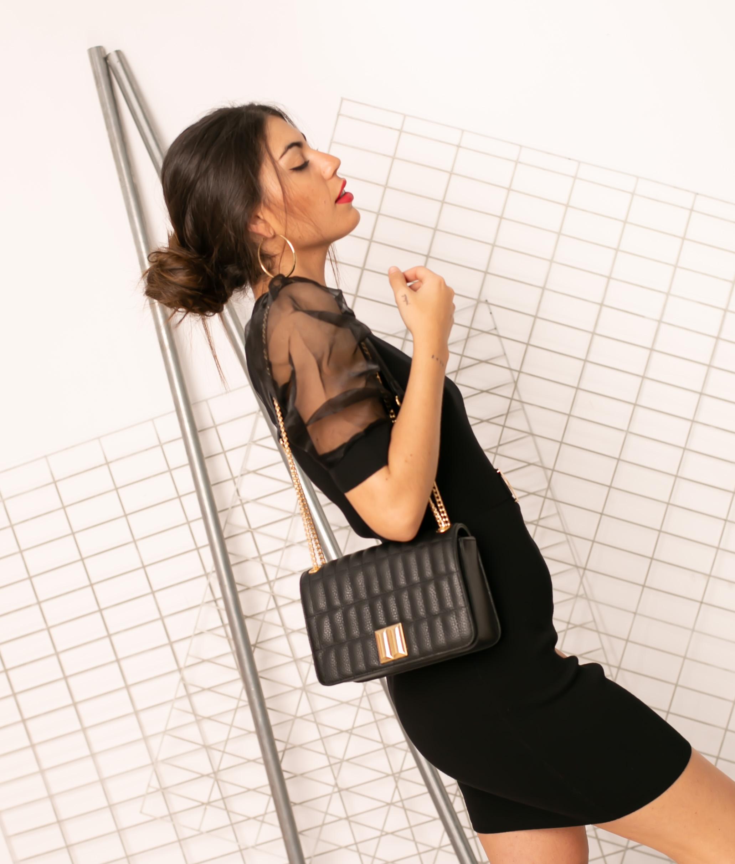 Vestido Sines - Noir