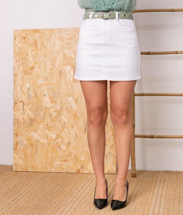 Falda Canaden - Blanco