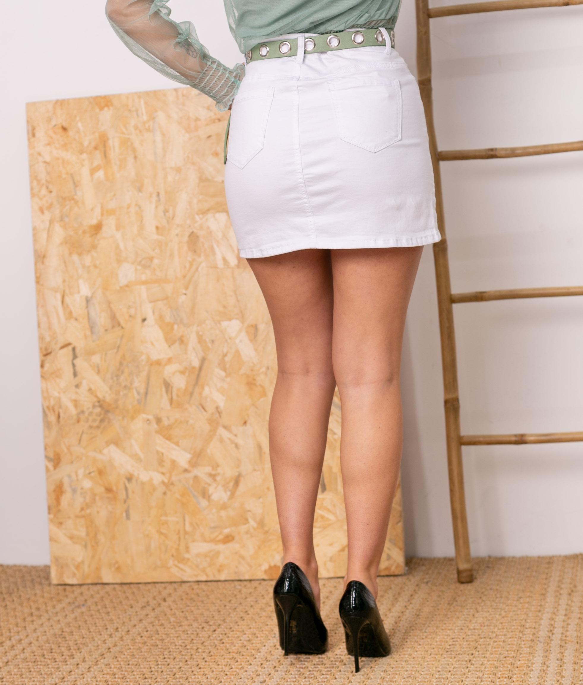 Skirt Canaden - White