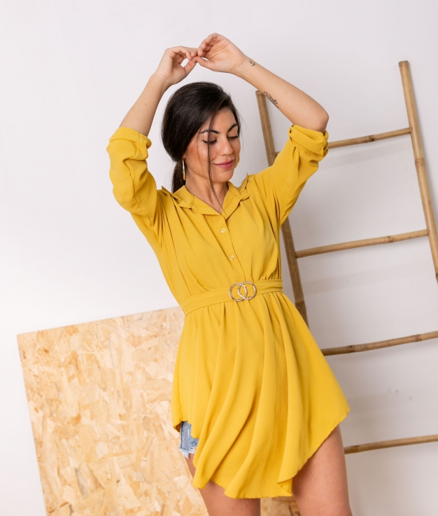 Blusa Lucinda - Yellow