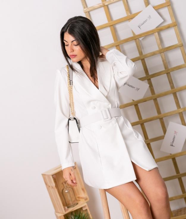 Vestido Baker - White