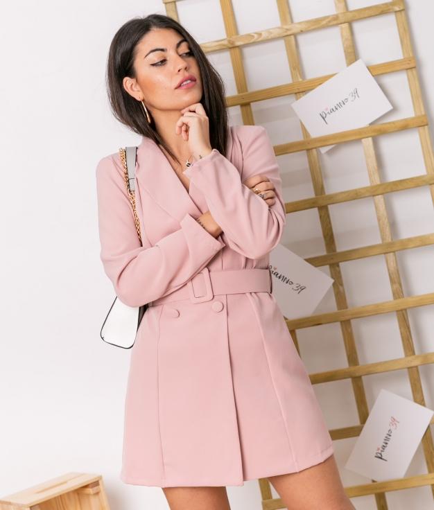 Vestido Baker - Rosa