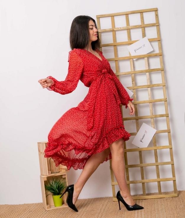 Vestido Quercus - Rojo
