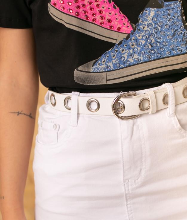 Cinturón Teciel - White