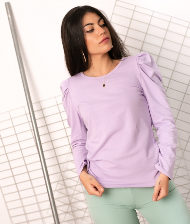 Camiseta Moura - Lilás