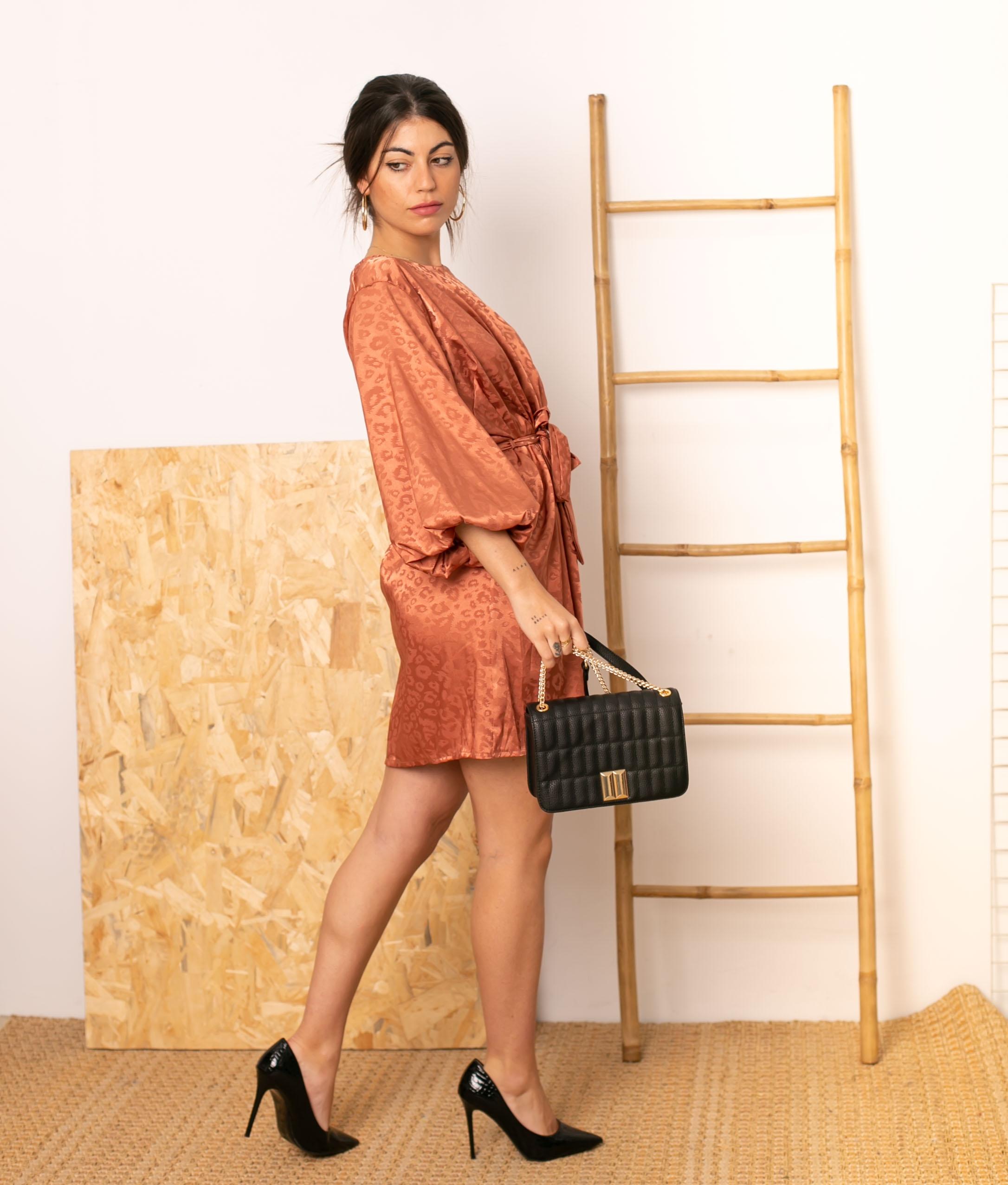 Vestido Dresden - Rosa