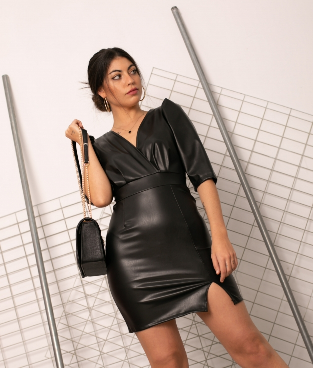 Vestido Quebec - Black